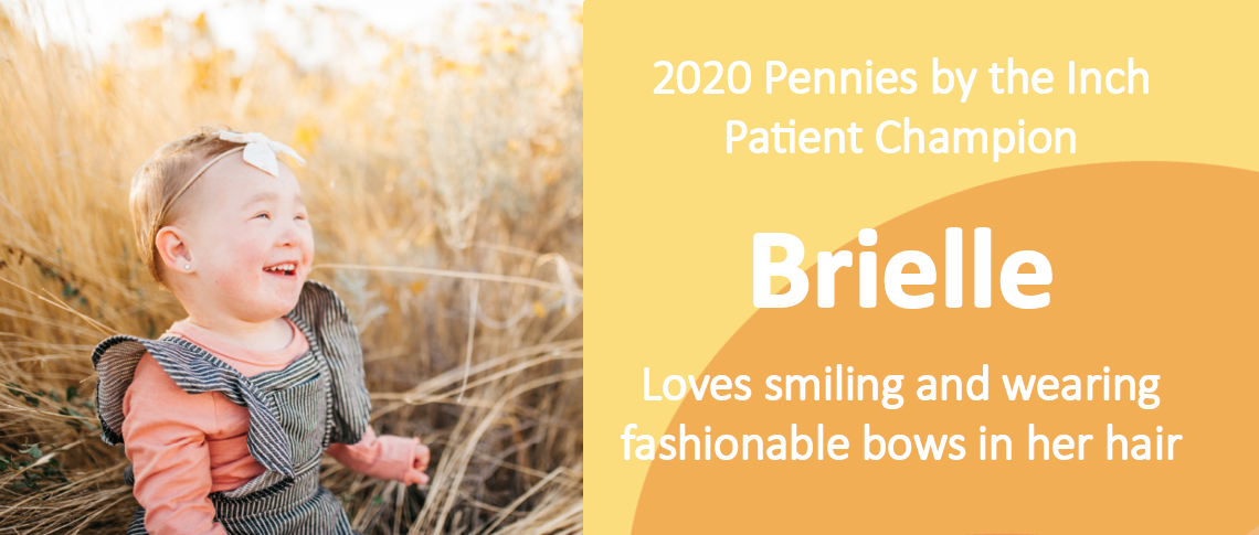 Brielle 2020 PBI Patient Champion
