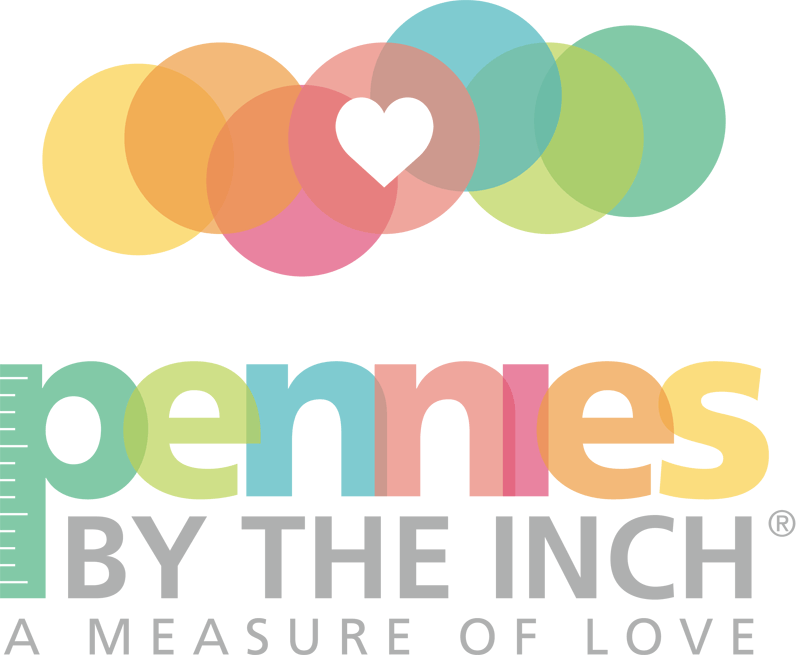 Pennies by the Inch. A measure of love.